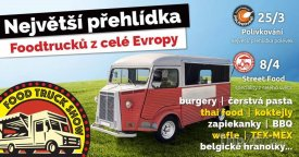 Food Truck show se koná v Praze na náplavce