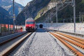 Gotthardský úpatní tunel, foto: designboom.com