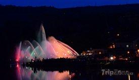 Hasičská fontána, foto: hasicskafontana.cz