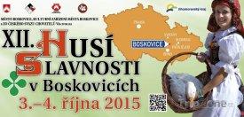 Husí slavnosti v Boskovicích se konají 3. a 4. října 2015