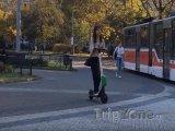 Koloběžka Lime v Praze