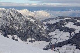 Krásný výhled z hory Gmahkopf