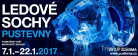 Ledové sochy na Pustevnách budou k vidění od 7. ledna
