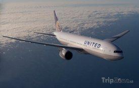 Letoun aerolinek United Airlines, foto: facebook.com