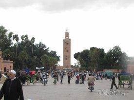 Marakéš, mešita Koutoubia