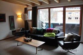 Moderně zařízený a prostorný apartmán