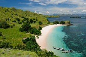 Národní park Komodo v Indonésii