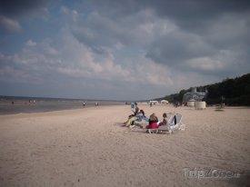 Nekonečná 32 kilometrů dlouhá pláž v Jurmale