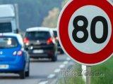 Od 1. července ve Francii mimo obec maximálně 80 km/h