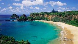 Pláž Baia do Sancho, foto: abcnews.go.com