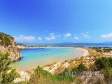 Pláž Voidokilia poblíž města Kalamata