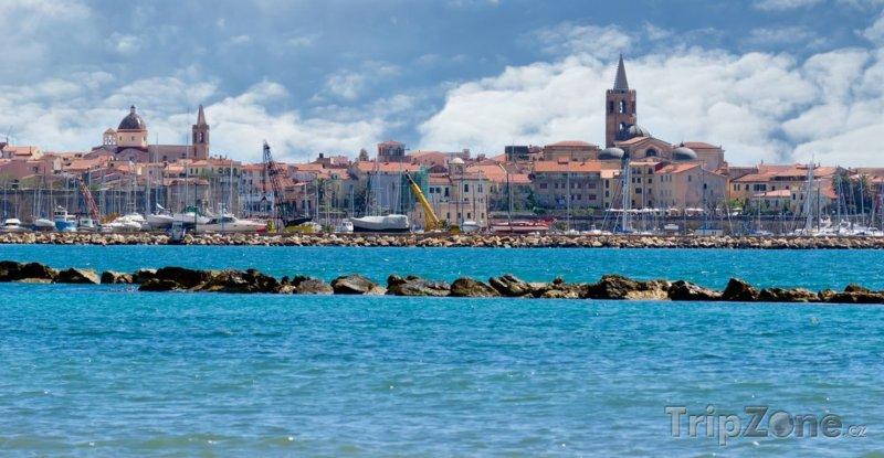 Fotka, Foto Pohled na město Alghero
