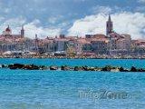 Pohled na město Alghero