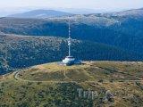 Rozhledna a televizní vysílač Praděd v Jeseníkách