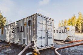 Snowfactory vyrábí sníh i když je nad nulou, foto: facebook.com