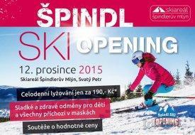 Špindl Ski Opening proběhne v sobotu 12. prosince