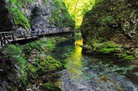 Triglavský národní park nedaleko Bledu