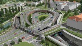 Tunel Blanka - křižovatka Malovanka, zdroj: tunelblanka.cz