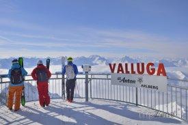 Valluga - vyhlídková terasa, © TVB St. Anton am Arlberg