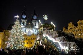 Vánoční trhy na Staroměstském náměstí, foto: trhypraha.cz