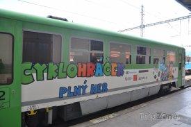 Výletní vlak Cyklohráček, foto: ČD