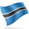 vlajka Botswana