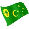 vlajka Kokosové (Keelingovy) ostrovy