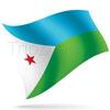 vlajka Džibutsko