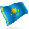 vlajka Kazachstán