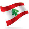 vlajka Libanon