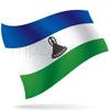 vlajka Lesotho