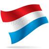 vlajka Lucembursko