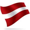 vlajka Lotyšsko