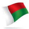 vlajka Madagaskar