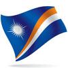 vlajka Marshallovy ostrovy