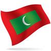 vlajka Maledivy