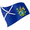 vlajka Pitcairnovy ostrovy