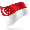 vlajka Singapur
