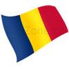 vlajka Čad