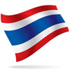 vlajka Thajsko