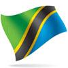 vlajka Tanzanie