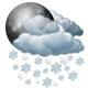 Občasný déšť se sněhem