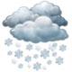Silné sněžení