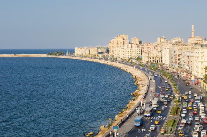 Fotka, Foto Alexandrie, panorama (Egypt)