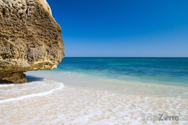 Fotka, Foto Algarve, Praia da Marinha (Portugalsko)