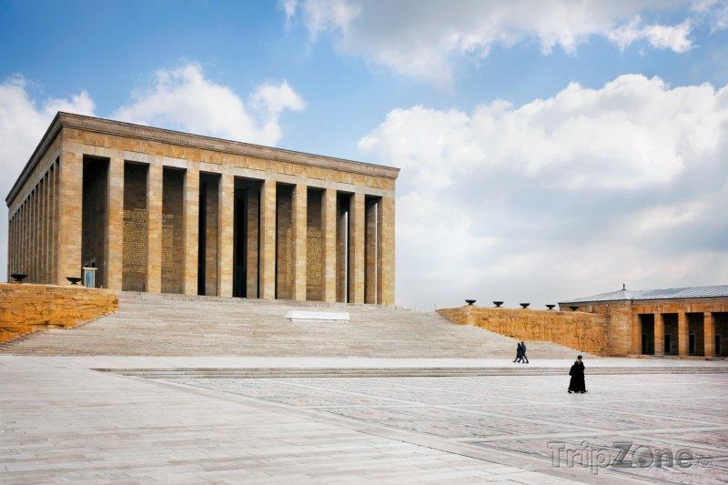 Fotka, Foto Ankara, Anitkabir (Atatürkovo mauzoleum) (Turecko)