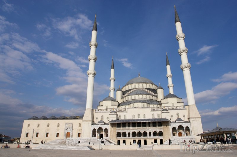 Fotka, Foto Ankara, mešita Kocatepe (Turecko)