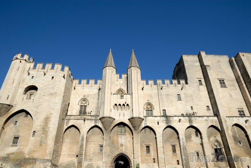 Fotka, Foto Avignon, Palais des Papes (Francie)