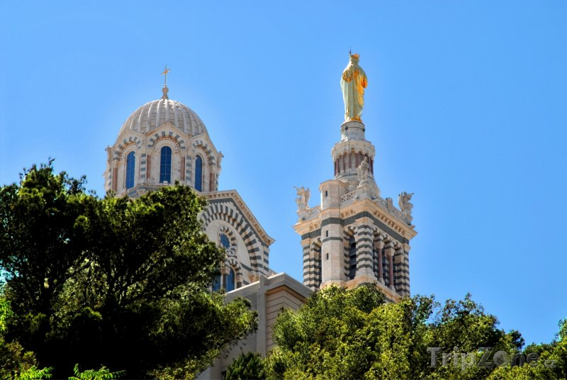 Fotka, Foto Bazilika Notre-Dame de la Garde (Marseille, Francie)