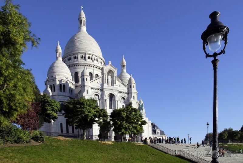 Fotka, Foto Bazilika Sacré-Coeur (Paříž, Francie)